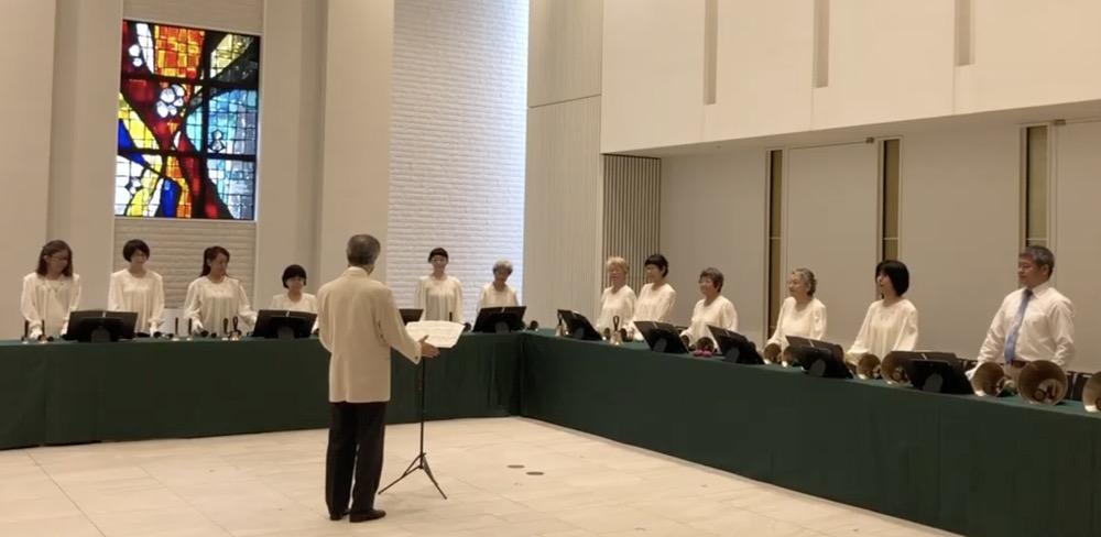 神戸YMCAベルクワイアー40周年記念に演奏を記録する